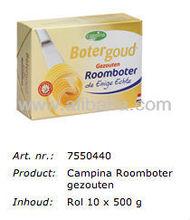 CAMPINA 500 gram UNSALTED BUTTER 82%, LACTIC (NIZO METHOD). ORIGIN: DUTCH / HOLLAND / NETHERLANDS