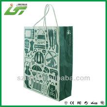 Luxury printed pure kraft paper bag maker
