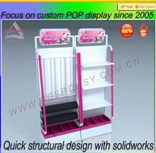 high quality metal energy-saving tube display stand/shelf/cabinet/showcase