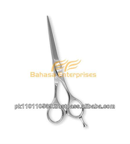 Professionale barbiere rasoio bordo di taglio di capelli cesoie/forbici con tensione regolabile e inserti dito
