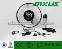 MXUS brushless dc motor,500w e bike conversion kit
