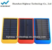 Emergency 2600mAh solar charger mobilephone