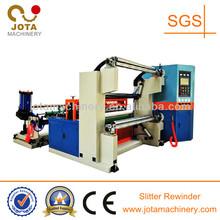 Automatic Jumbo Roll Unwinder and Rewinder Machine, Non-woven Fabrics Roll Slitting Rewinding Machine, Fiberglass Mesh Cutting
