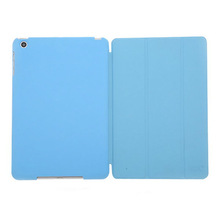 standing function hard back case & trifold leather cover for ipad mini cover hybrid