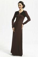 Knot Style Long sleeve Jubah Dress FJ0043