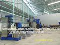 Garrafa pet reciclagem e lavadoras linha/flocos de garrafa pet reciclagem de linha de produção