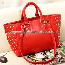 new style !!women designer handbags handbags ladies big travel studde tote bag S592