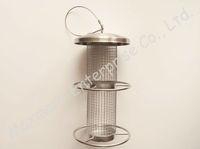 Wild metal bird feeder with hanger, stainless steel bird feeder
