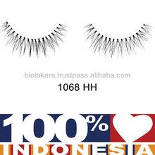 Human Hair Eyelashes Made in Indonesia