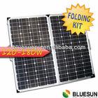 25 years warrantly poly 120W folding solar panel