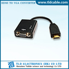 HDMI Male to VGA With Audio Video Converter Adapter for PC