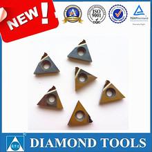 16ER 1.5ISO PCD diamond threading inserts for aluminum pipe
