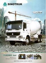 HOWO 10m3 Concrete mixer truck