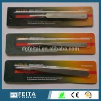 VETUS ESD changeable plastic tips stainless steel tweezers