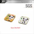 schöne panda mit bambus Blätter und Triebe für cd Paket