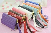 hot selling wallet case for iphone 4 4s 5, for leather case iphone5 Wallet Diary Stand Cover Case