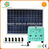 18V45W off-grid solar system for camping outside&inside