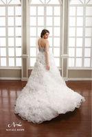 Charming indian pakistani whosale Organza fabric Ball Gown bridal lehnga dresses