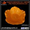 Hot selling melamine color palm leaf plates