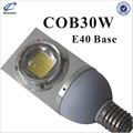 profesional 30w e40 base de jardín iluminación led pilar
