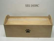 Hot Sale! 28-1/8''L Pet Wooden Beds Dog bed