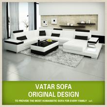 VATAR sofa leather white