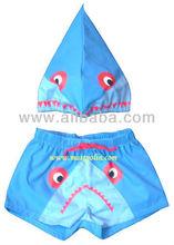 Baby boy swimwear short and hat