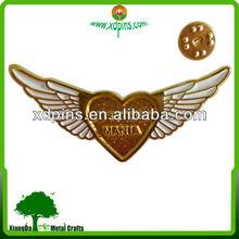 2013-cheaper metal gold eagle emblem