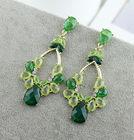 Latest Design Diamond Gold Dangle Earrings New Model