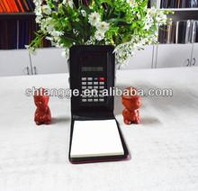 digital pocket notebook solar calculator 2014 new arrival hot sale