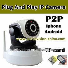 Plug and play infrared IP camera