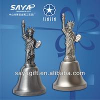 2013 Customized Dinner Bell Souvenir Bell Statue of Liberty