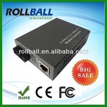 High quality factory single fiber fast ethernet media converter