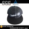 New Raised Embroidery Black Cap