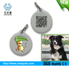 Round shape 2013 engraved pet tag ,dog tags for promotion