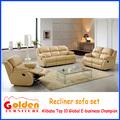 Nouvelle conception importé paresseux garçon en cuir canapé inclinable, Ea36 #