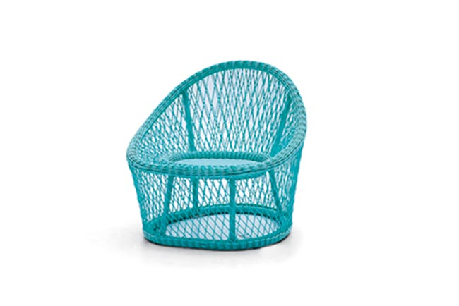 2000 Hours Tested UV-resistant Colorful Wicker Outdoor Furniture