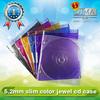 5.2mm plastic wedding cd case