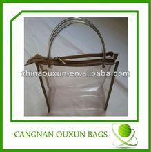 High quality clear pvc tote bag