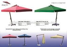 3,5x3,5 side pole umbrella