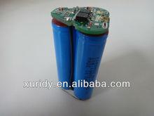 ICR18650 1.5Ah 12V li-ion battery