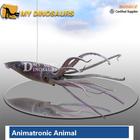 Fiberglass animal giant rubber octopus