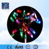 12mm diffused thin digital rgb led pixels (strand of 40), dc5v full color rgb led pixel light