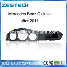 ZESTECH 7 inch touch screen 2 din car dvd For Mercedes-benz C class with bluetooth gps car dvd player for Benz c class 2012 GPS