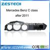ZESTECH 7 inch Touch Screen Car DVD for Mercedes Benz C class after 2011 GPS RADIO DVD USB BT RDS
