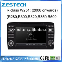 ZESTECH Mercedes Benz R-Class W251 car dvd with DVD/CD/Mp3/Mp4/Bluetooth/Radio/RDS/GPS/Steering wheel control! hot selling!