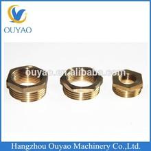 Brass hexagonal bushing