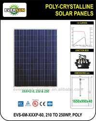 210 TO 250Wp POLYCRYSTALLINE SOLAR PANELS,SOLAR MODULE,SOLAR LED MODULE