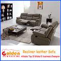 Foshan emass italiano poltronas reclináveis de couro sofá de canto ea101#