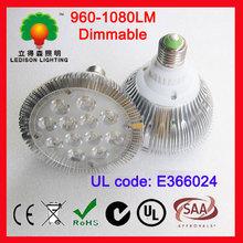 LED PAR38 light 12WX1 commercial lighting decoration for shop UL approved cul